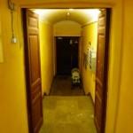 schöner wohnen war schon immer mein Ding, der Hoteleingang..