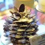 ein Weihnachtsbäumchen aus Schoko