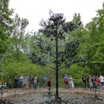 die Christbaum Fontäne